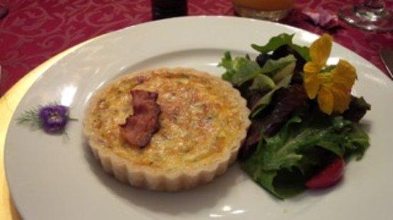 Dundee, estado de Nueva York: Kish with a perfect crust