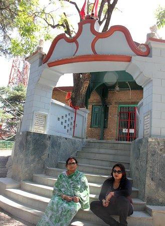Kamna Devi Temple: The temple
