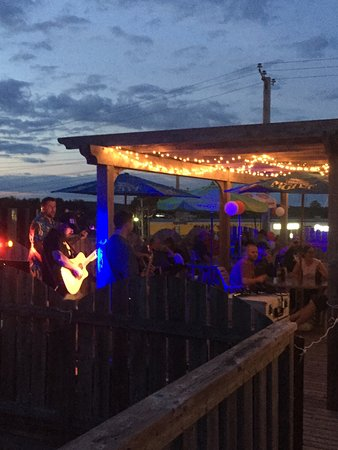 Bridgewater, Kanada: Patio party