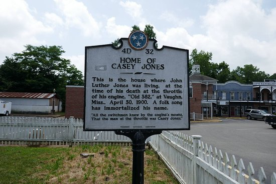 Jackson, TN: Casey Jones Museum June 2016