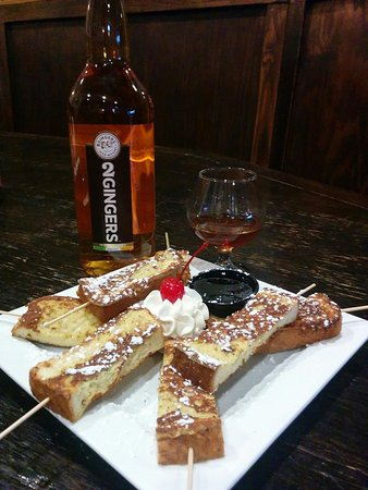 Atlantic Beach, FL: Brunch Whiskey Toast!