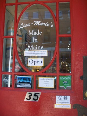 Bath, ME: Lisa-Marie's Made in Maine