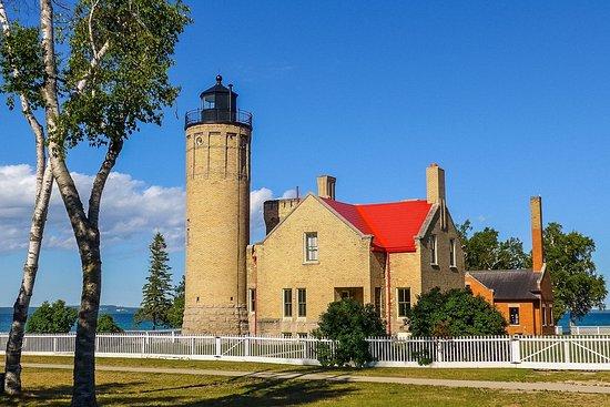 Mackinaw City, MI: The Lighthouse complex