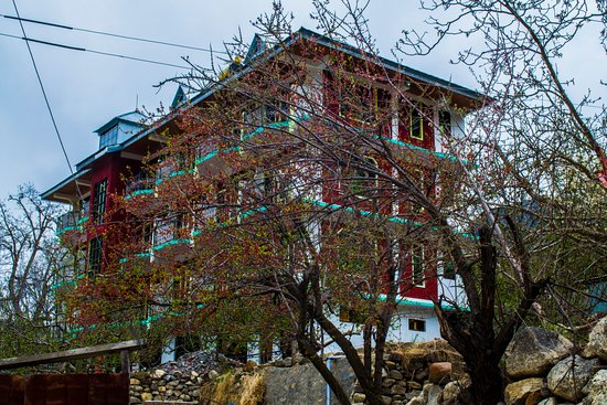 Sangla, Индия: this is the hotel.