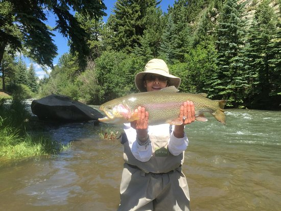 Shawnee, CO: Caught the biggest fish of the week!
