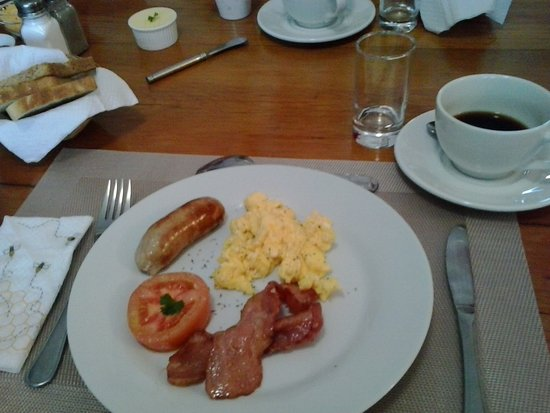 Colchester, Afrika Selatan: Parte del buen desayuno.