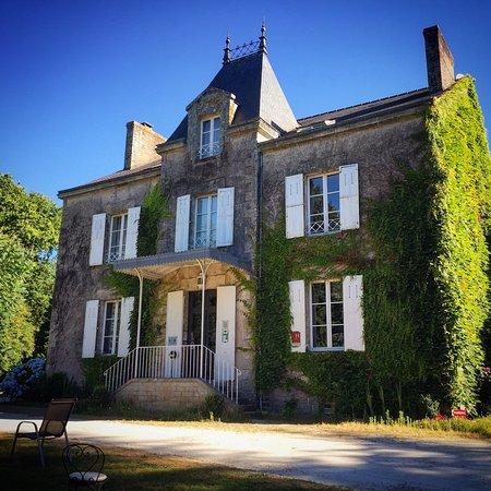 Nivillac, Frankrijk: Prachtig domein met zeer vriendelijke eigenaars! Een echte aanrader!