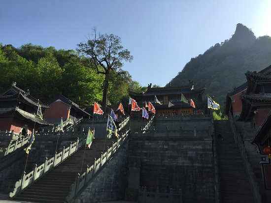 Danjiangkou, China: Staircase