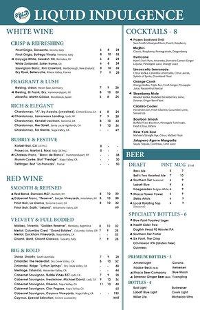 Boatyard Restaurant Menu Prices