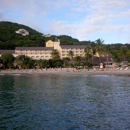 Cap Estate, St. Lucia: View from the friday night party boat