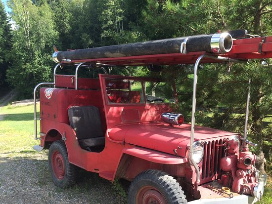 Salmon Arm, Kanada: Fire Jeep