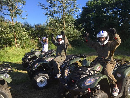 QUAD BIKING - Formby, Liverpool