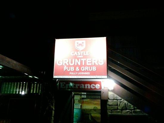 Colchester, África do Sul: Grunters.