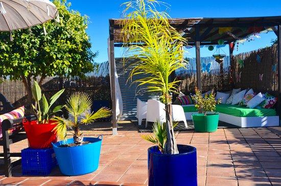 Pizarra, España: Lekker ontspannen in de loungehoek...