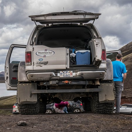 Hafnarfjordur, IJsland: Good ground clearance