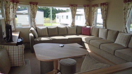 Tattershall, UK: caravan view