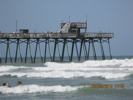 Bogue island pier picture of bogue inlet fishing pier for Fishing emerald isle nc