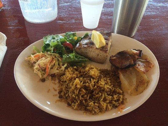 Simpson Bay, St-Martin/St Maarten: Mahi-Mahi Lunch