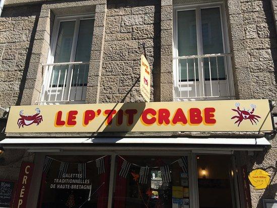 Le P'tit Crabe: Вывеска, что бы не пройти мимо