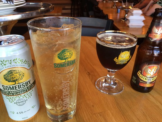 Riviera Pizza & Spaghetti House: refreshing summer beverages