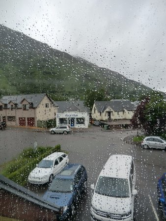 Kinlochleven, UK: view from my room on the first floor.