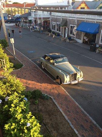 The Dockside Inn: View from balcony outside room 20