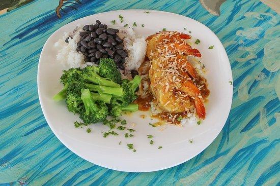 Jensen Beach, FL: Our Kokomo Shrimp Dinner