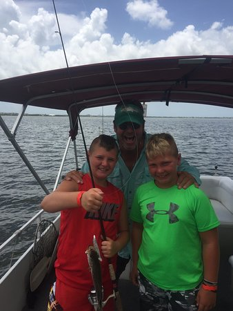 Merritt Island, Flórida: Loved our trip this afternoon! Captain Quinn is awesome!!!