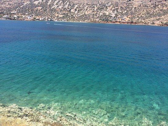 Elounda, اليونان: Spiaggia in cui poter rinfrescarsi