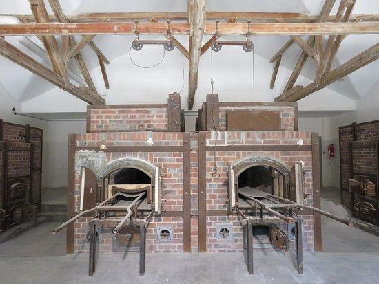 Νταχάου, Γερμανία: 4 ovens in the crematorium