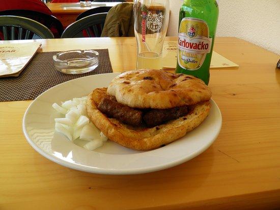 Slunj, Chorwacja: Small ćevapčići