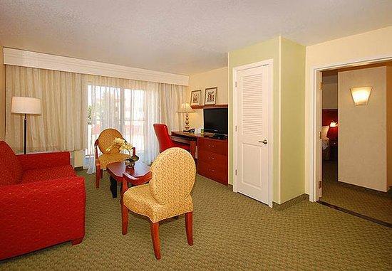 Merced, Kaliforniya: King Suite Guest Room