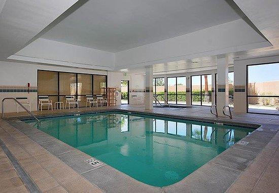 Merced, Californië: Indoor Pool