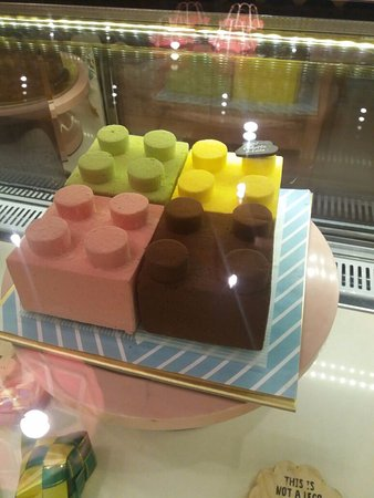 lego cake Picture of Colette Lola Grand Indonesia Jakarta