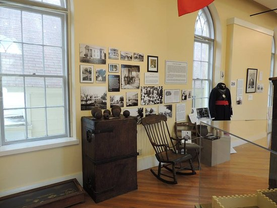 Inside the Beaufort History Museum