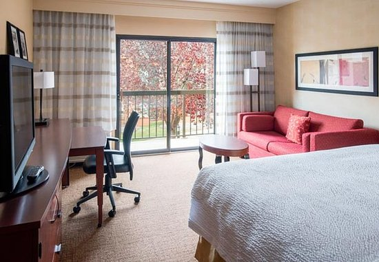 Waukegan, Илинойс: King Balcony Guest Room