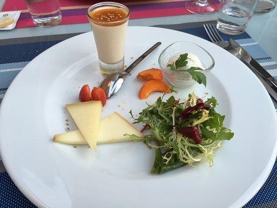Camelas, Francia: Le fromage de manière originale