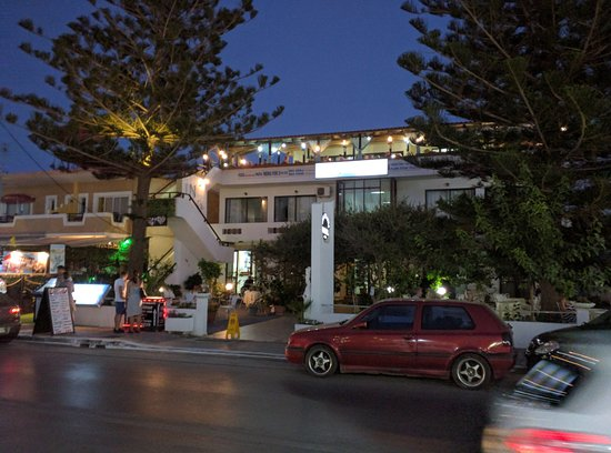 Hotel Evangelina : Entrén till Hotell Evangelina