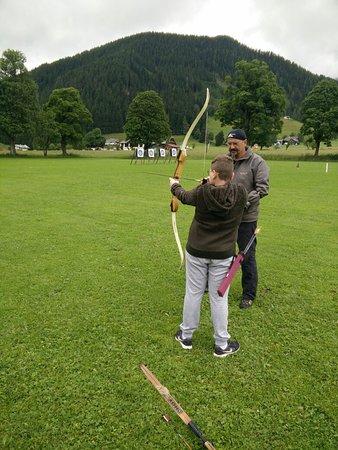 Ramsau am Dachstein, النمسا: Bogenschiessen