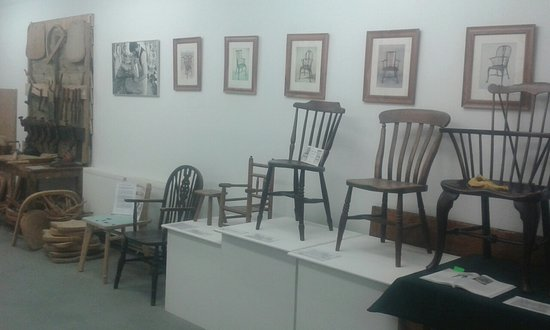 High Wycombe, UK: Chair making museum