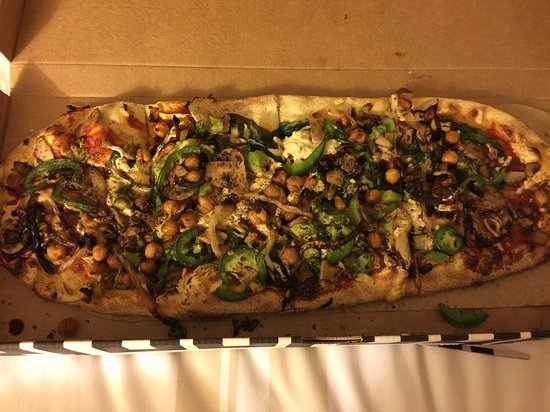 North Bethesda, MD: A great vegan pizza!