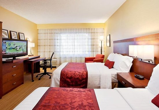 Laguna Hills, Kaliforniya: Double/Double Guest Room