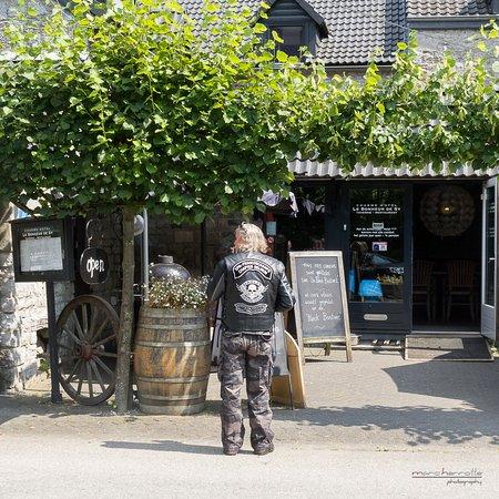 """Ferrieres, Belgium: Le tableau """"Tous nos viandes..."""""""