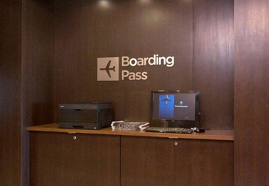 Monroe, LA: Boarding Pass Station