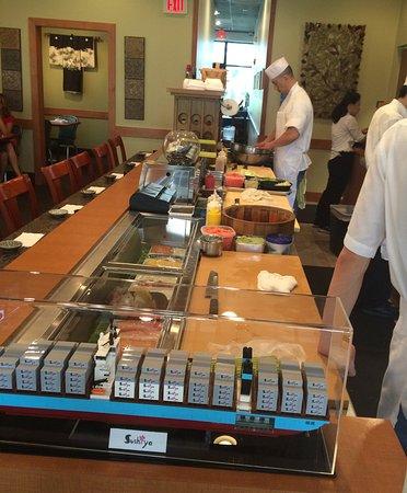 North Liberty, IA: Sushi bar
