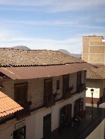 Valle Del Inca: Vista en el día (aproximadamente 2 pm), muy soleado.