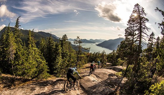 Squamish, Kanada: Breathtaking singletrack