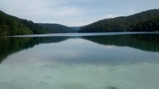 Gradinsko Lake : vista do lago
