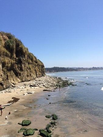 Capitola Beach, a great place to learn to surf!