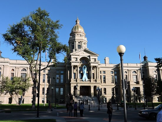 Cheyenne is the Capitol City of Wyoming, and its beautiful Capitol reflects the pride and wester